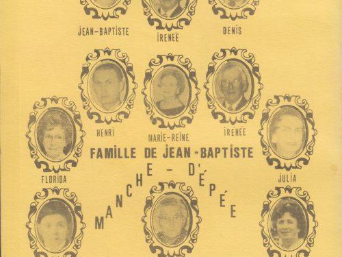 5 générations de Pelchat, date : 1991, source : Répertoires, Les éditions de la S.H.A.M. tome 8.