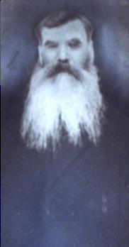 Joseph Fournier fils (1845-1930) fait partie des trois premiers pionniers, date non précisée, coll. : Mario Lévesque