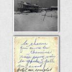 Hôtel Gaspé-Nord et inscription au verso de la photo, date : vers le milieu des années 1950, fonds Robert Pelchat, coll. : Hélène Fournier
