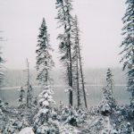 Troisième lac, date : automne 1997, coll. : Roberte Boucher