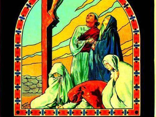 Affiche du film Golgotha (1935) de Jean Duvivier projeté les 29 et 30 mars 1956 au Théâtre Blanchette