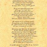 « Je me souviens » poème de Robert Merle sur la libération de la Normandie, daté du 12 janvier 1994, coll. : Joël Aubin