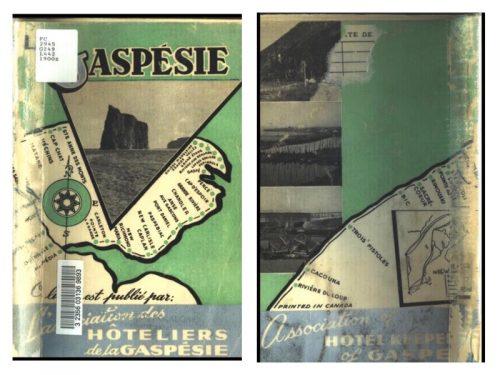 La Gaspésie, guide touristique publié par l'Association des hôteliers de la Gaspésie vers 1950.