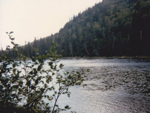 Lac au Diable, date : 1965, photo : Blandine Mercier