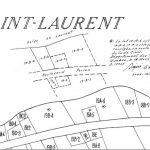 Croquis à la main montrant l'ajout du lot 19A-6, source : « Registre foncier du Québec en ligne ».