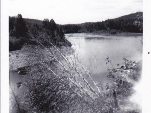 Tite-farme sur la rivière Madeleine, date : 1964, photo : Blandine Mercier