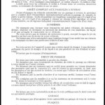 Règlements de la circulation en 1929, texte extrait de : Sur les routes du Québec, source : Nos racines