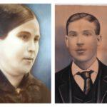 Georgiana Servant (1887-1937) et Georges Boucher (1884-1920), date non précisée, coll. : Guy Boucher