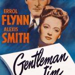 Affiche du film Gentleman Jim (1942) de Raoul Walsh projeté les 13 et 14 juin 1956 au Théâtre Blanchette