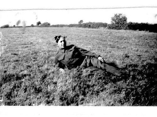 Gérard Fournier (1918-1985), photo date : années 1940; coll. : Hélène Fournier