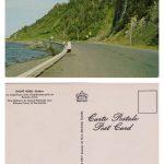 « La magnifique route gaspésienne près du ruisseau Sorel », coll. : Marie Fournier
