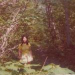 Mariette Fournier, animatrice, photo date : été 1974, coll. : Marina Boucher