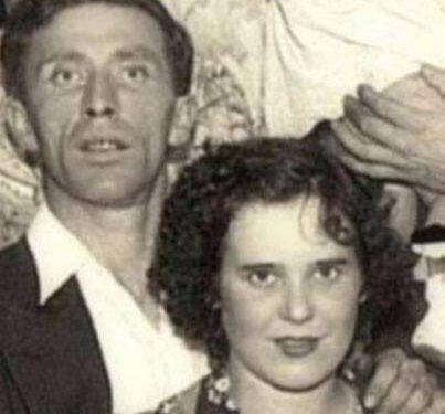 Edmond Boucher (1910-1990) fils d'Alfred et Rose-de-Lima Pelchat et Cécile Boucher (1917-1992) fille de Georges et de Georgiana Servant, date inconnue, coll. : Guy Boucher