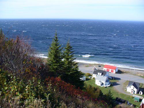 Vue de la côte, date : non précisée, photo : bélangerr
