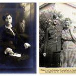 Georgiana Boucher (1892-1966) fille d'Eugène, dates non précisées, source : archives de la ville de Newmarket (voir article de sa nécrologie, en anglais, plus loin).