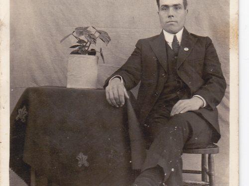 Simon-Jude dit Jules Boucher (1894-1992); date non précisée, coll. : Blandine Mercier et Ernest Boucher
