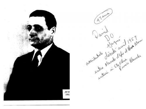 Do (David) Gagné (1912- 1959), date inconnue, coll. : Benoit Lepage
