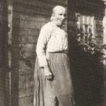 Marie-Louise Fournier dite madame Ti-Ouane (1847-1940), grand-mère paternelle, date non précisée, coll. : Salomée Ouellette