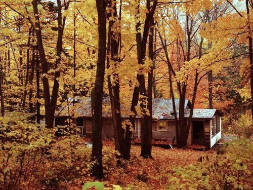 Cabane à sucre de Robert Pelchat, date non précisée, coll. : Guy Fournier