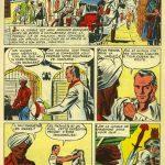Planche de la bande dessinée Jim la Jungle qui a inspiré la série présentée au Théâtre Blanchette dans les années 1960