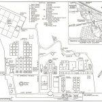 Plan du cimetière de Brookwood : sépulture de Paul Ouellette : tombe 4, rangée H, lot 54, source : site du cimetière