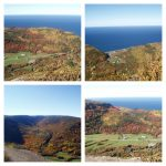 Le Belvédère, date : octobre 2005, photo : B. Boucher. Les 4 photos fournissent une idée du panorama que l'on peut découvrir du belvédère.