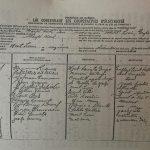 Déclaration de coopérative d'électricité sous le nom de Coopérative d'électricité de Gaspé-Nord, date : 11 décembre 1947, source : Mont-Louis se raconte de Mariette B. Lemieux