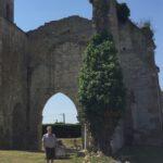 Visite des ruines de l'église Saint-Étienne de Marans le 30 juin 2018, photo : Magali Euzenot-Boucher