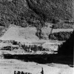 Terre d'Anthime passée en succession à Arthur puis Roméo et Jocelyn, date : 1940, photo : Maxime St-Amour, source : Gaspésie visages et paysages, J. Bélanger, 1984