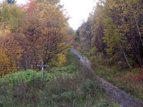 Chemin du Roi, date : octobre 2009, photo : B. Boucher