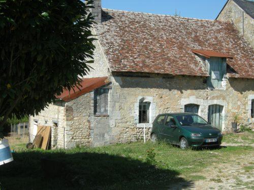 Maison de Marin Boucher à St-Langis-lès-Mortagne, date : 2016, photo : B.Boucher