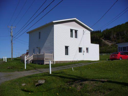 La première école est encore aujourd'hui la propriété de Marguerite Fournier, date : 2017, photo : Blandine Mercier