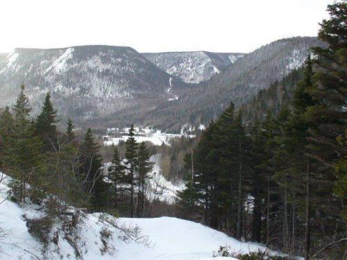 Montagne Plate, date : février 2009, photo : Blandine Mercier