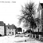 Les Biards, village d'origine de l'ancêtre des Pelchat, date non précisée, source : site LES BIARDS Isigny Le Buat.