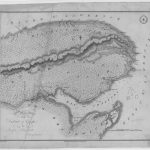 Plan of the district of Gaspé by Joseph Bouchette, date : 1815, coll. : BAnQ
