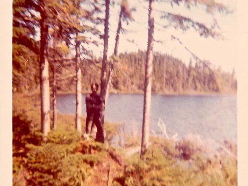 Lac à Raphaël, date : vers 1975 – 1980, coll. : Marguerite Boucher