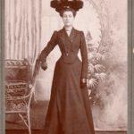 Virginie Boucher (1867 -?), fille aînée d'Eugène et Malvina Fournier, date non précisée, coll. : Jocelyn Boucher