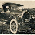 Chevrolet Baby Grant propriété de Alfred Blachette, date : 1924, source : M. Plamondon, Notes historiques sur la paroisse de Madeleine, p.96.