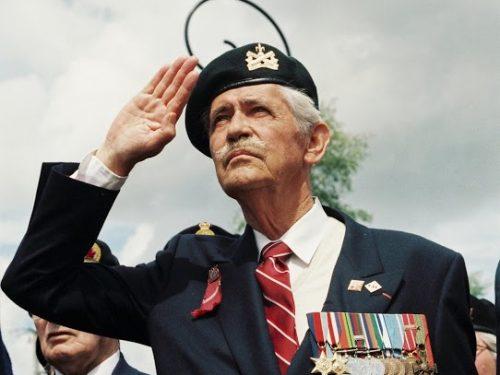Vétéran du Régiment de la Chaudière, date : juin 1994, coll. : Joël Aubin