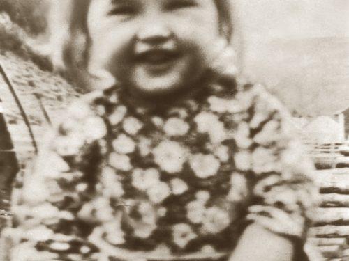 Salomée Ouellette, la petite sœur, date : 1932, coll. : Salomée Ouellette
