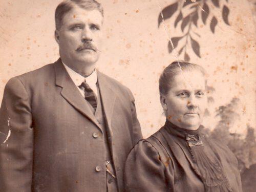 Michel Boucher (1877-1968) et Lumina Pelchat (1880-1921), date non précisée, coll. : Ernest Boucher et Blandine Mercier