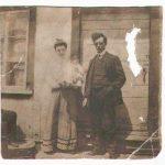 Régina Davis et Jean-Baptiste Pelchat (1884-1943), date non précisée, fonds Lucille Pelchat, coll. : Hélène Fournier.