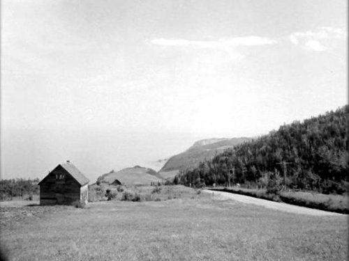 Chemin des Côtes-de-Manche-d'Épée, la maison serait celle d'Edmond Boucher, date inconnue, coll. : Georges Fournier
