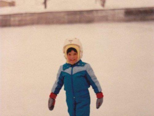 Ariane Boucher, date:hiver 1986-87, photo: Blandine Mercier