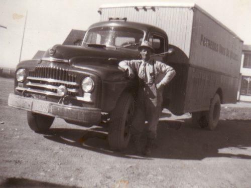 Camion de Pêcheurs Unis, date inconnue, coll.: Huguette Boucher - Jean-Guy Gagnon