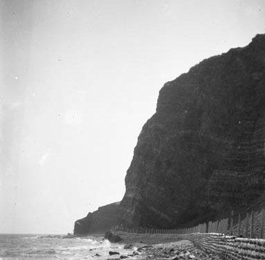 Des falaises d'une beauté spectaculaire, 1927, coll.: Bibliothèque et Archives Canada