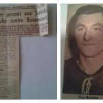 Guy Boucher se distingue avec les Saints de Laval en junior A, date: 1962-63, coll.: Guy Boucher