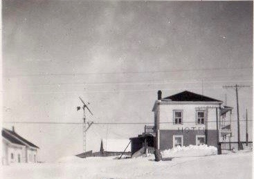 Hôtel Gaspé-Nord, vers 1953, coll.: Thérèse Bond