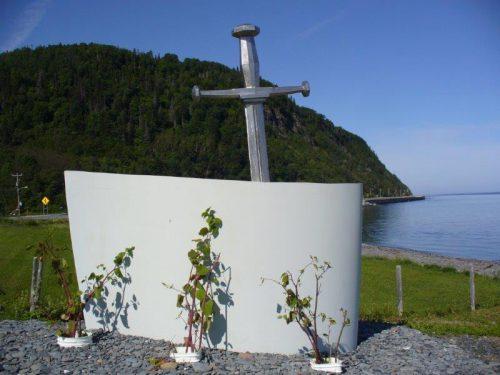 Le monument commémoratif du 150e anniversaire, juillet 2016, Photo: Blandine Mercier
