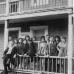 L'hôtel, un centre d'attraction, années 1940, coll.: Huguette Boucher-Jean-Guy Gagnon
